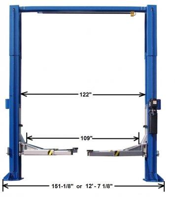 Hollstein 12000 2Post Lift