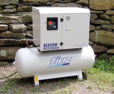 FIAC 5.5Hp Silent Recip Compressor